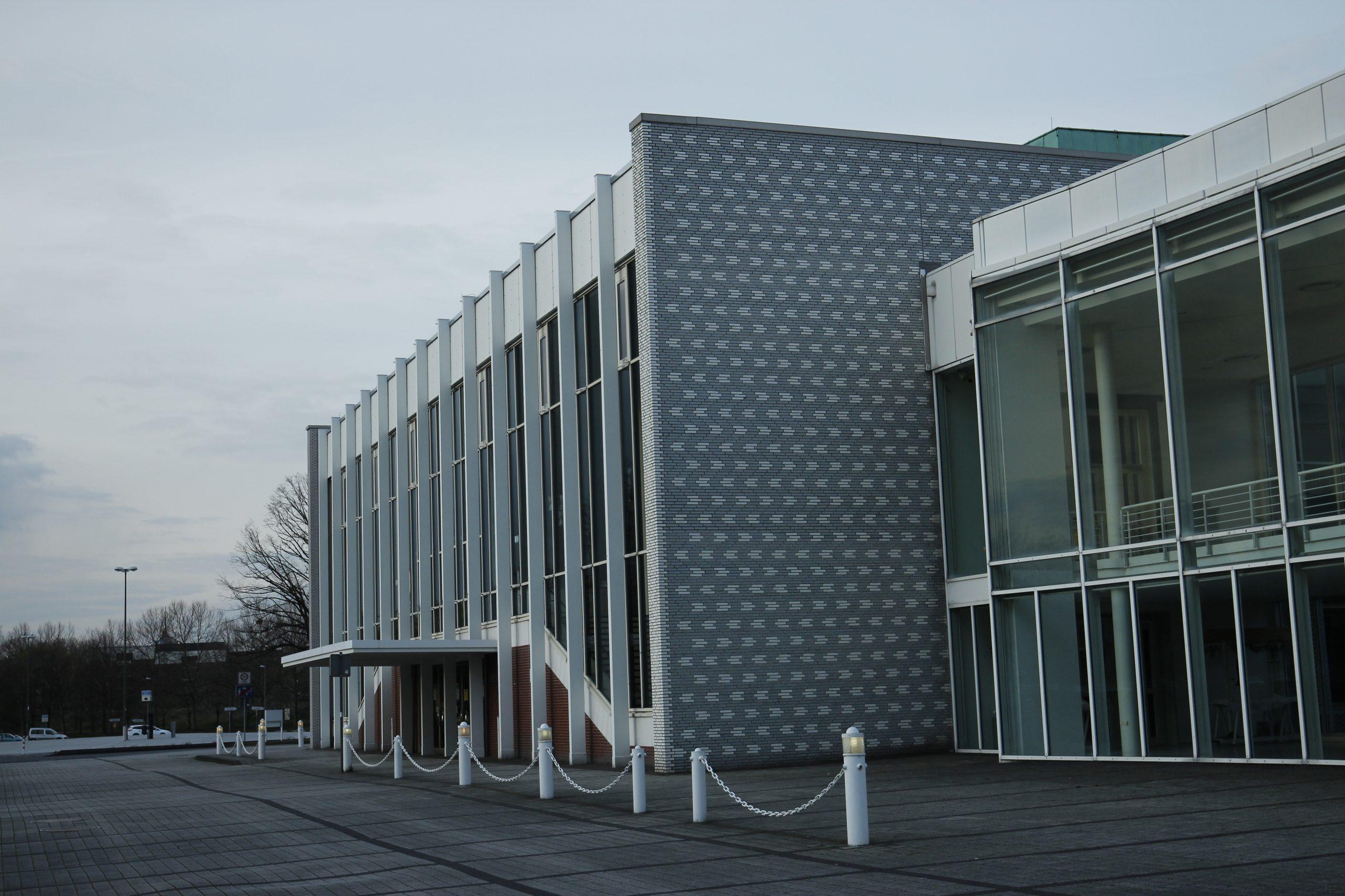 Exterior view of the Heinz Hilpert Theater.