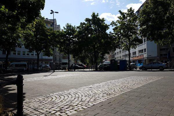 Der Platz der alten Feuerwache in Köln (c) Ole Löding