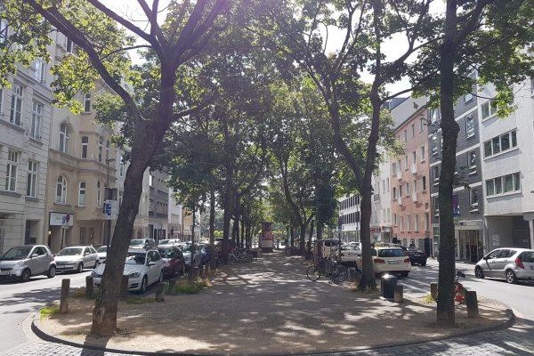 Straße im Agnesviertel in köln (c) Ole Löding