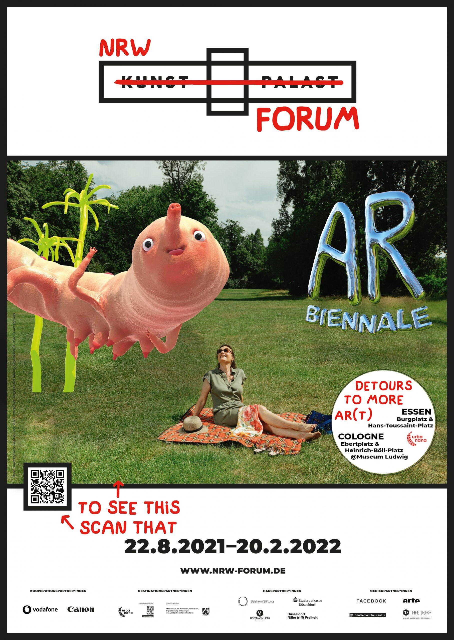 Plakat von AR Biennale