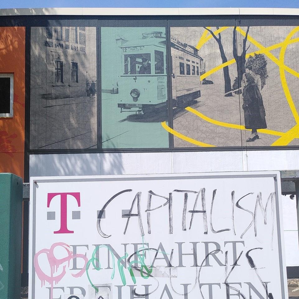 Großes Graffiti in Witten.