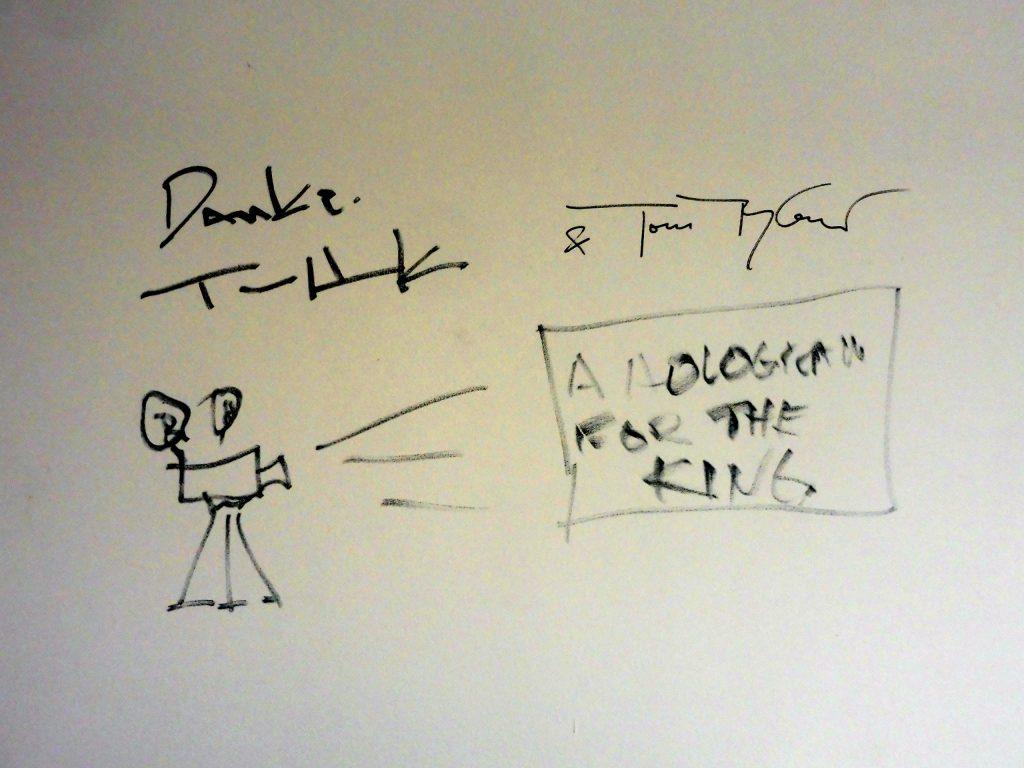 Zeichnung zum Film von Tom Hanks und Tykwer